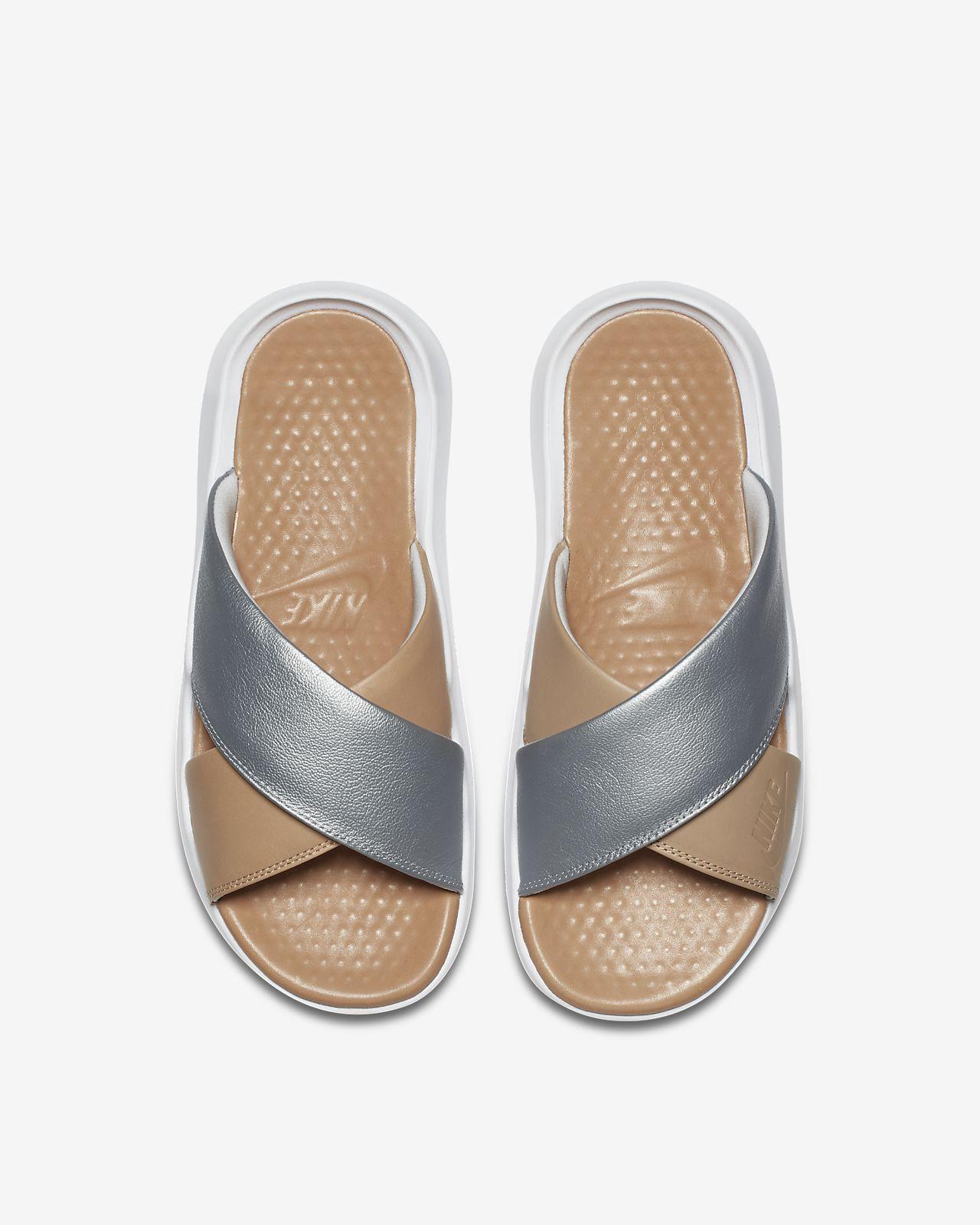 2949d2eb6 Nike Benassi Future Cross Se Premium Women s Slide - 10 Beige ...