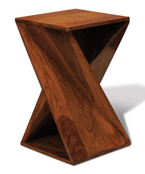 Look At This Twisted Wood Table On Zulily Today