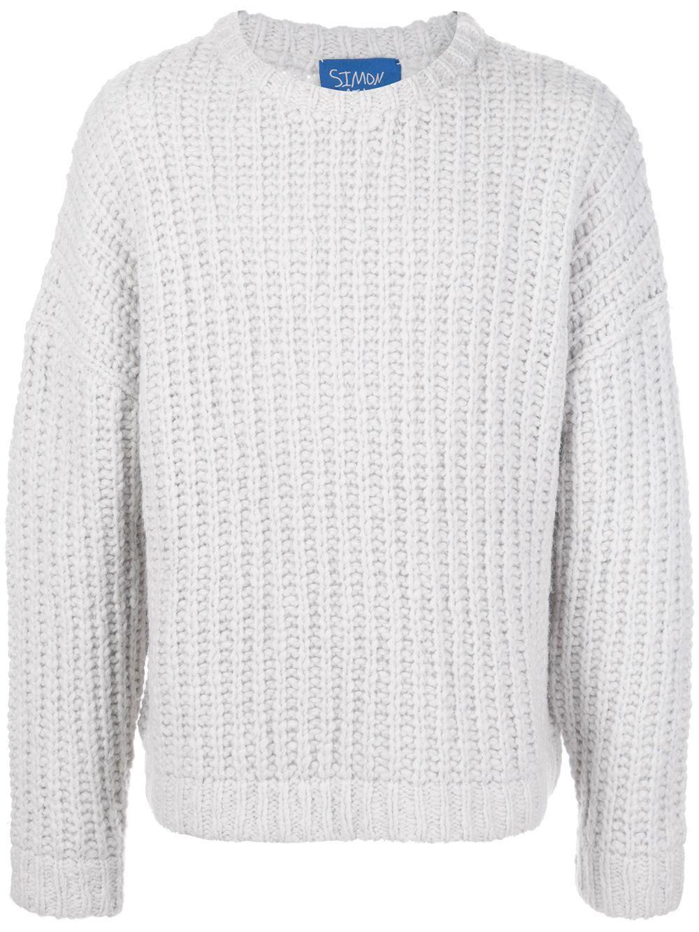Simon Miller Meru chunky-knit jumper - NEUTRALS