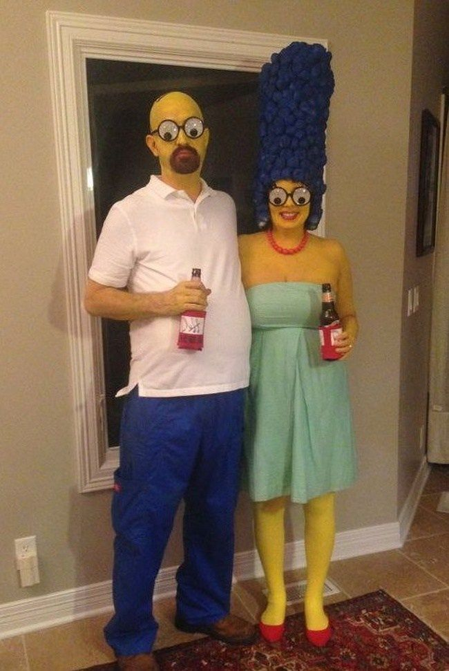 Quatang Gallery- 30 Hilariously Unique Halloween Costumes For Couples That Don T Like Boring Hall Funny Couple Halloween Costumes Diy Couples Costumes Couple Halloween Costumes