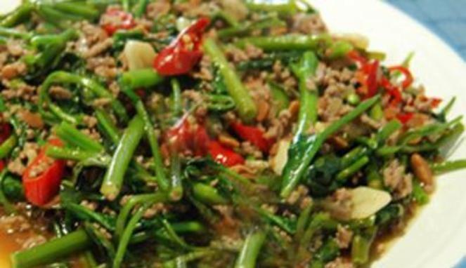 Resep Tumis Kangkung Tauco Wanitapedia Resep Masakan Indonesia Resep Masakan
