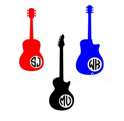 Guitar Decal Guitar Yeti Cup Decal Decal For Yeti Cup Custom - Guitar custom vinyl stickers