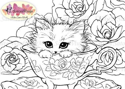 Pin By Prajs Evgenija On Zeichnungen Cat And Dog Tattoo Cat Coloring Page Coloring Pages