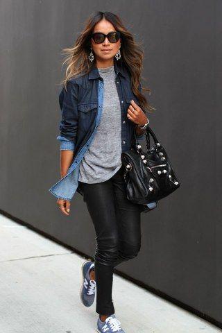 eccezionale gamma di stili e colori immagini dettagliate fashion design Come indossare la camicia di jeans? Ecco i 5 abbinamenti ...