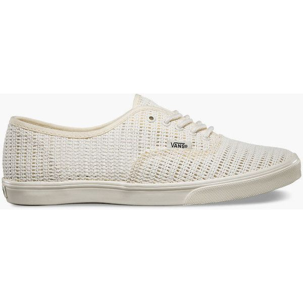 a35a460640 Vans Mesh Authentic Lo Pro Womens Shoes ( 55) ❤ liked on Polyvore featuring  shoes