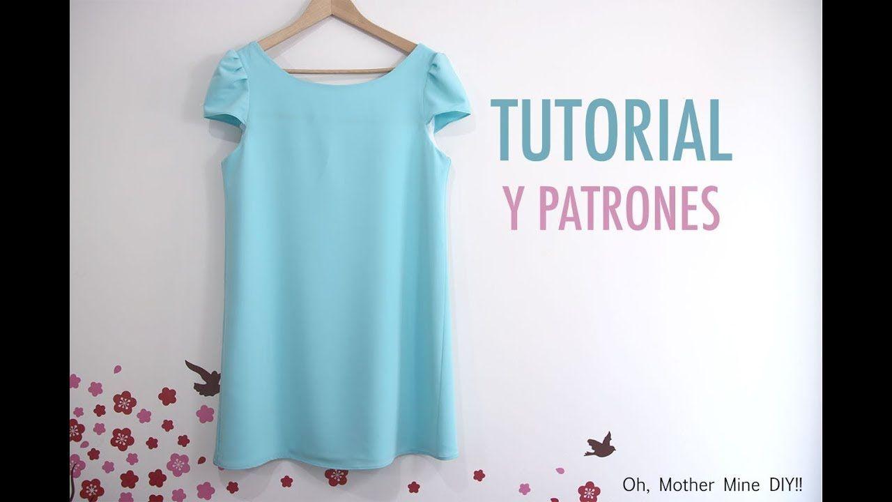 Costura: Vestido para mujer (patrones gratis) | Oh,Mother Mine DIY ...