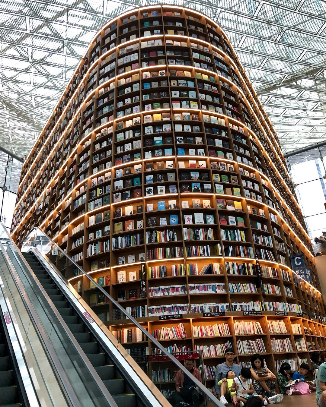 Starfield library in the Coex Mall | Seoul Korea in 2019 ...