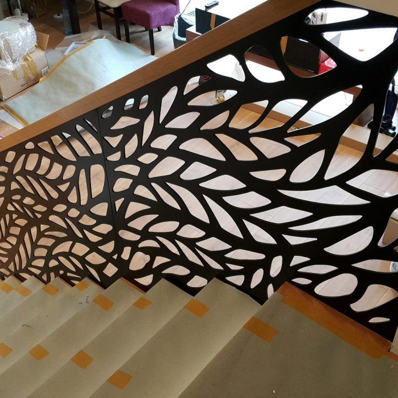 balustrady ażurowe | Stairway design, Stair railing design