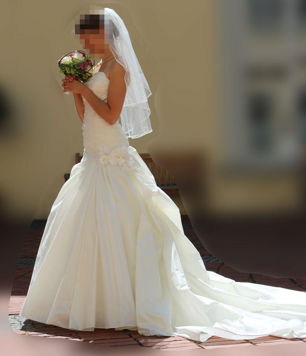 ♥ Wunderschönes Brautkleid in der Größe 34/36 zu verkaufen ...