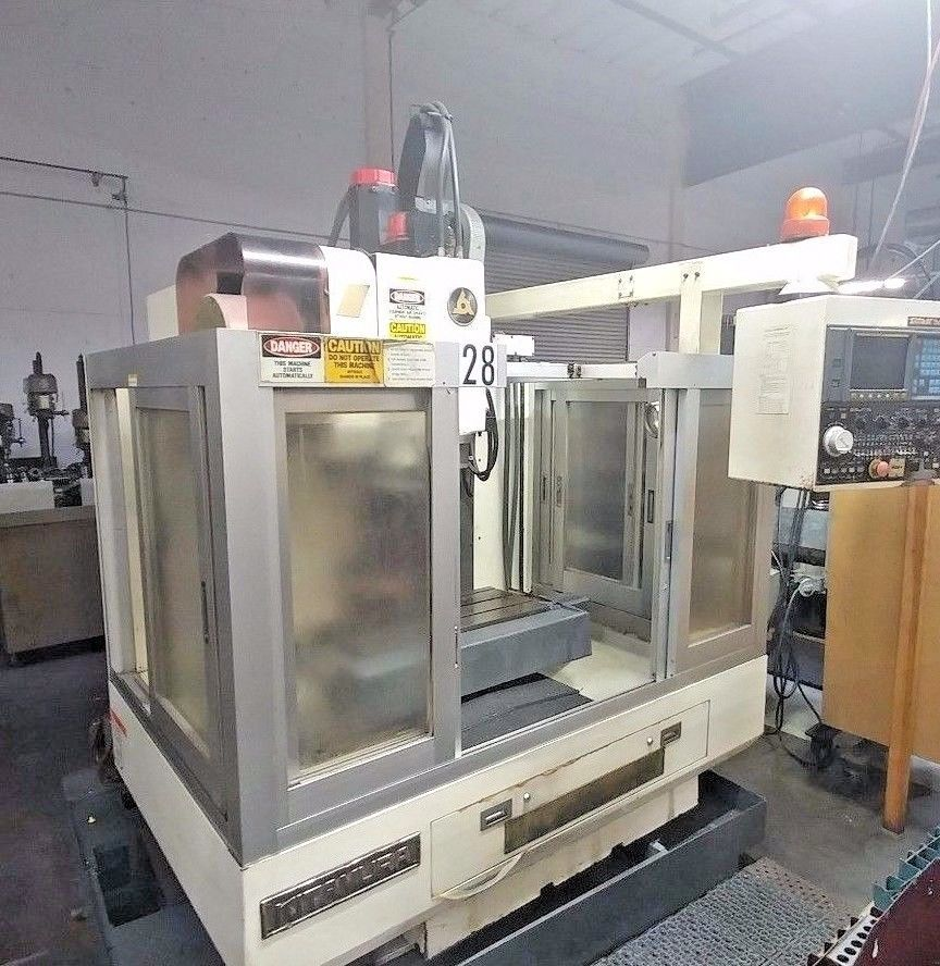 Kitamura mycenter 1 cnc milling machine / vmc with fanuc 0m