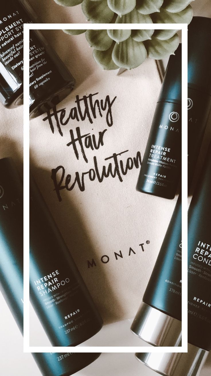 These products are proven to regrow healthy hair. Monat