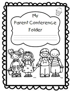 Parent Conference Folder Cover Parents Conferences Parents As Teachers Parent Teacher Conferences