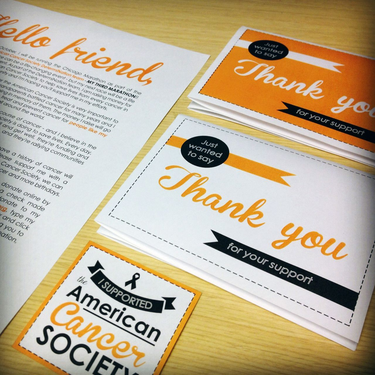 American cancer society fundraising collateral by yours truly american cancer society fundraising collateral by yours truly m4hsunfo