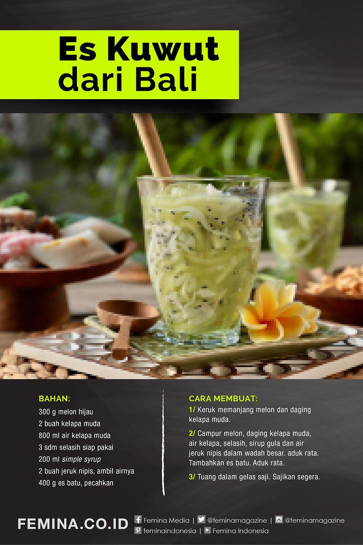 Takjil Es Kuwut Dari Bali Di 2020 Makanan Dan Minuman Resep Makanan