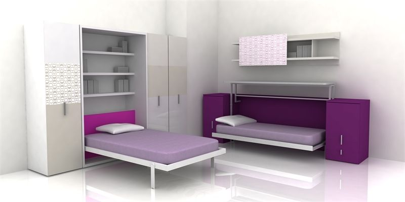 Cool Teen Room Furniture For Small Bedroom Just add some bedding