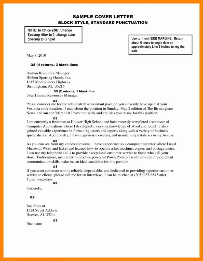 27 Cover Letter Spacing Word Date Format Melo Yogawithjo Co