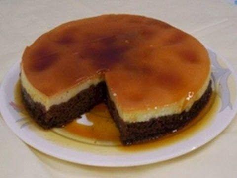 عالم الطبخ والجمال قدرة قادر طريقة عمل كيكة قدرة قادر مع الكريم كراميل Chocolate Creme Sweet Treats Desserts Chocolate Caramel Cake
