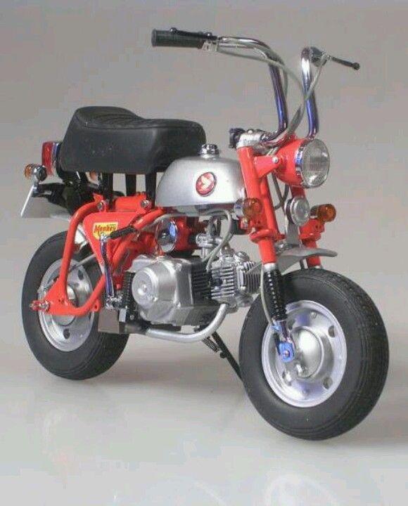 Honda 50 Monkey Vintage Honda Motorcycles Mini Bike Honda Bikes