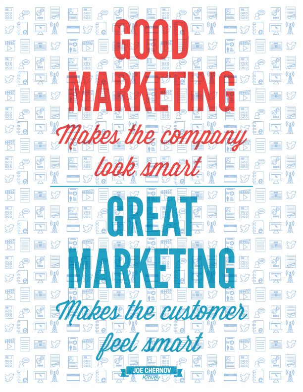 Marketing Quotes Inspired Marketing An Original Poster Series  Pinterest  Free