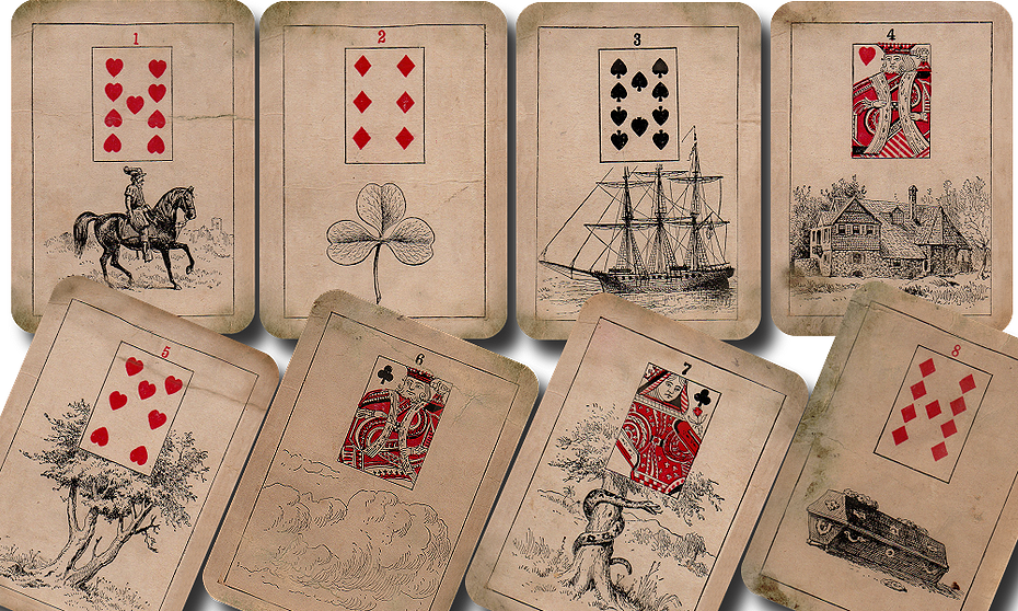 Купить колоду карт для гадания гадание на 4 игральные карты