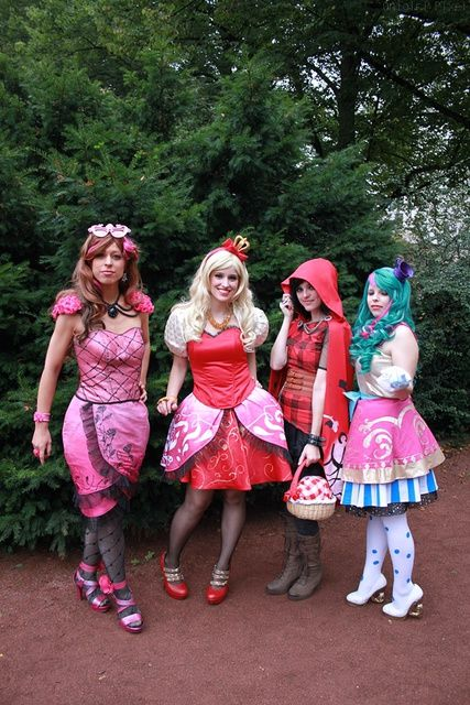 high cosplay after Ever