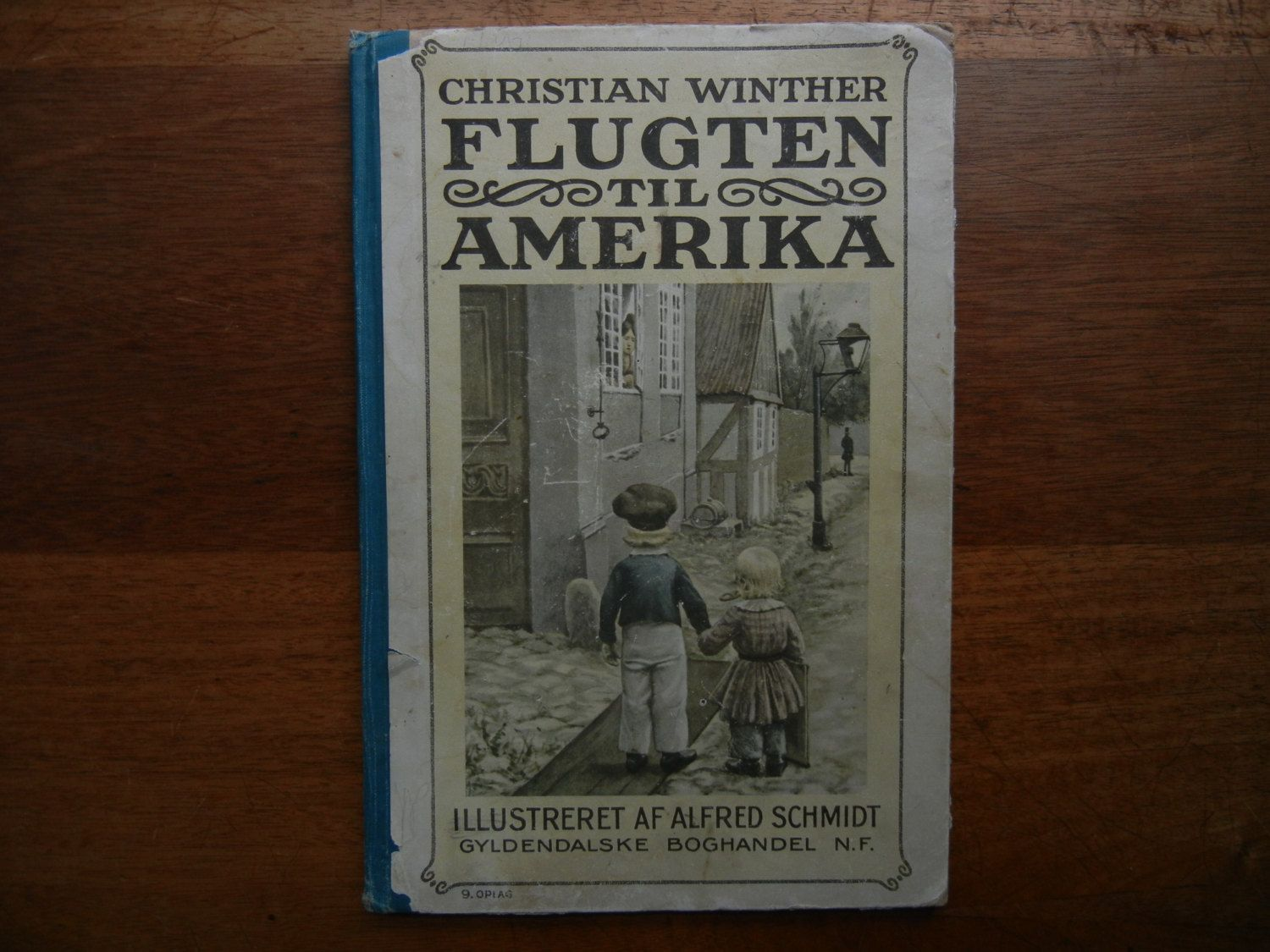Escape to America by Christian Winther in Danish ~ 1940's Printing from…