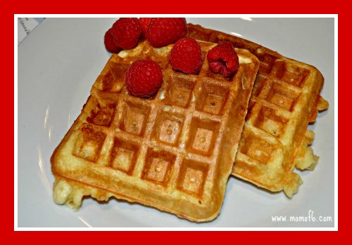 I promise you- these at some of the best homemade Belgian waffles you will ever have!