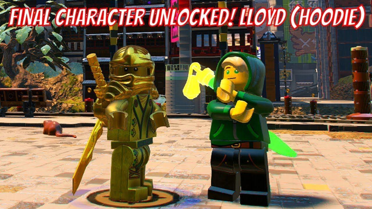 The Lego Ninjago Movie Video Game Lloyd Hoodie Unlock Code And Gamep Lego Ninjago Movie Ninjago Video Game