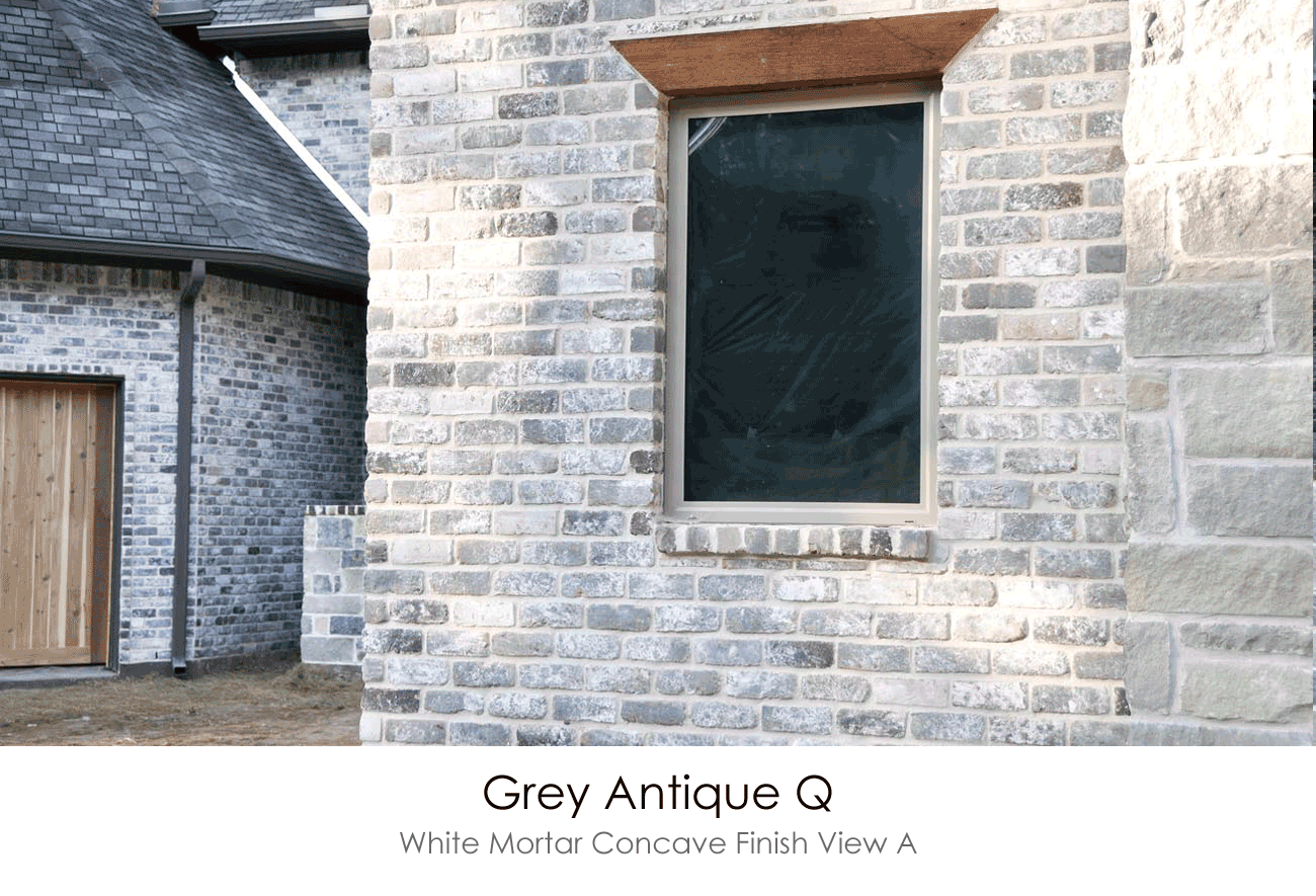 Old Texas Brick Brick Exterior House Exterior Brick Grey Brick Houses