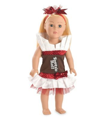 Tootsie Roll Doll Costume Only At Chasing Fireflies Your Doll