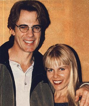 Rick Springfield and wife, Barbara
