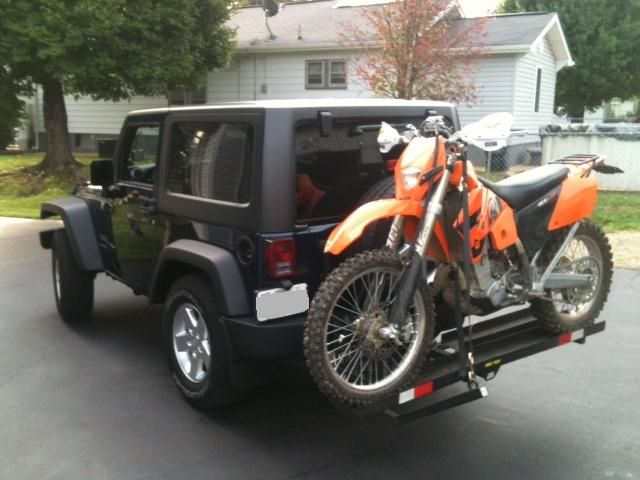 Dual Hitch For Bikes And Cargo Carrier Jeep Wrangler Forum