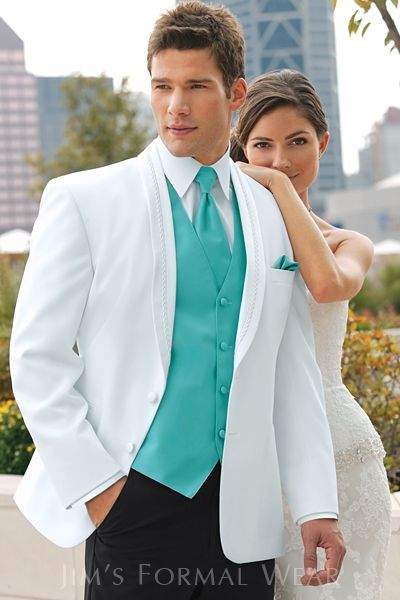 2017 New Custom Made White Groom Tuxedos Shawl Lapel Groomsmen Men Wedding Suits