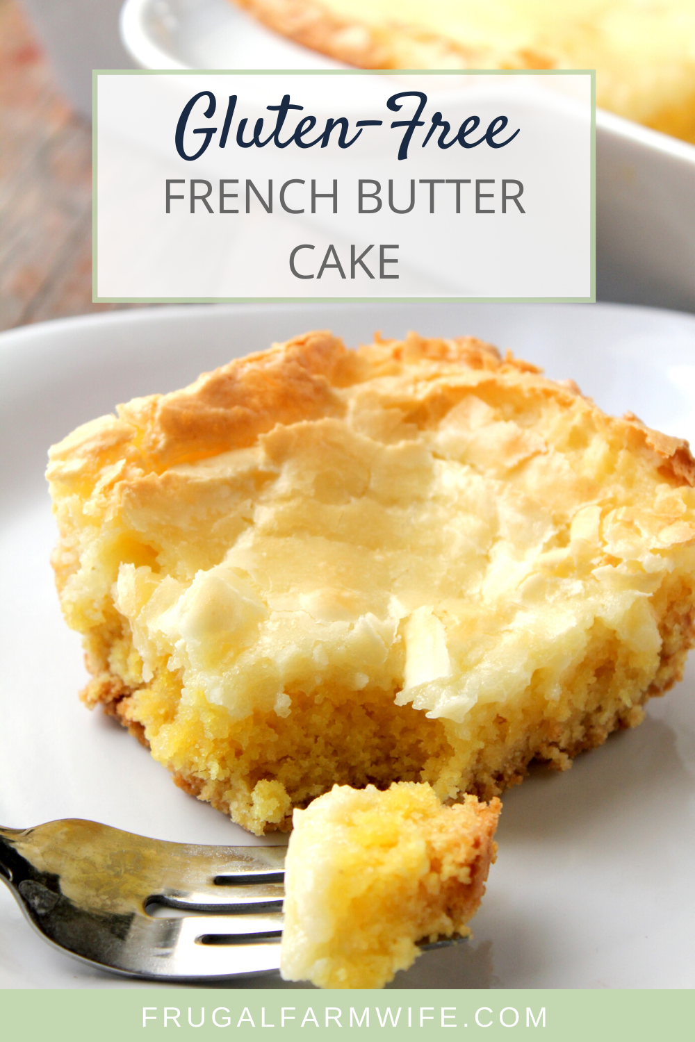 Photo of Gluten-Free Gooey Butter Cake