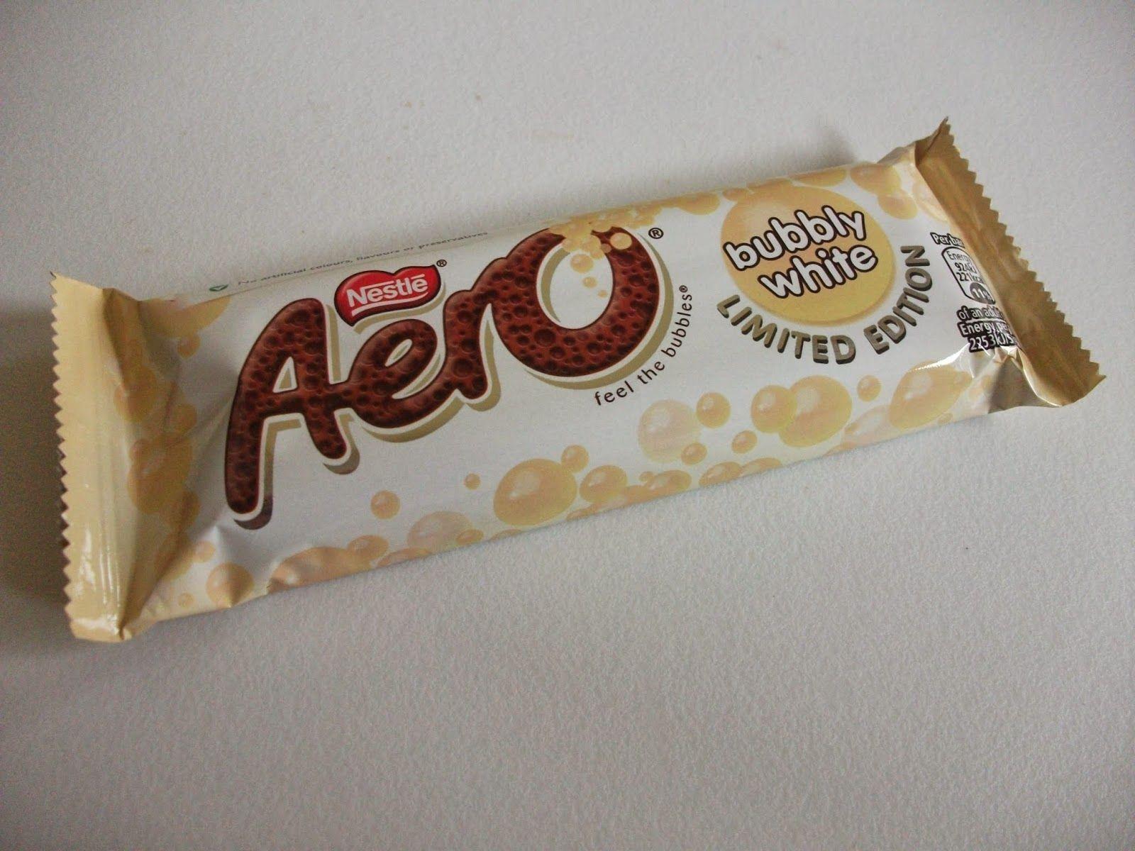 Aero Chocolate Nestlé Aero Bubbly White Chocolate Bar