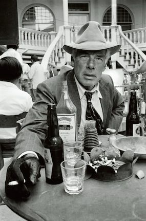 Lee Marvin on the set of Pocket Money, 1971 by Terry O'Neill