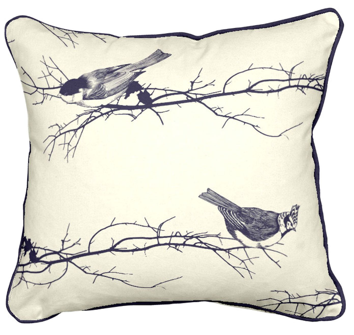 Birds digitally printed cushion cm x cm from more by design