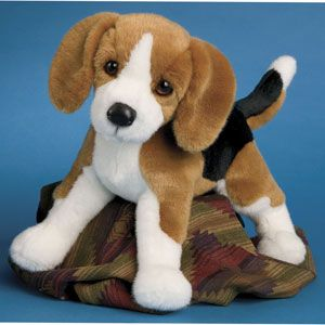 Beagle Plush Stuffed Dog Bernie 16 Inches By Douglas Dog