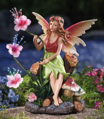 Garden Fairy Statue Fairy Garden Garden Fairies Figurines Fairy Statues