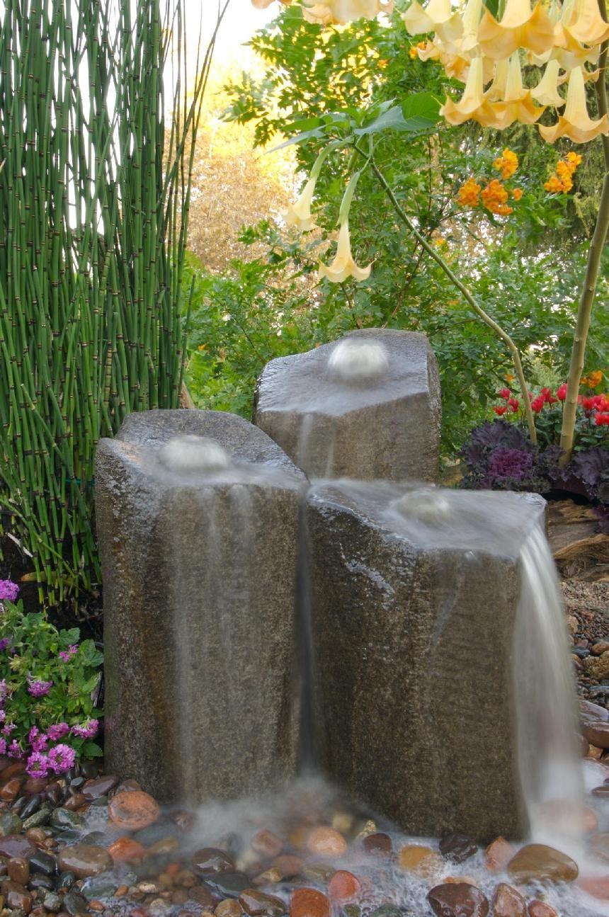 Small Garden Fountain: Small Backyard Water Features