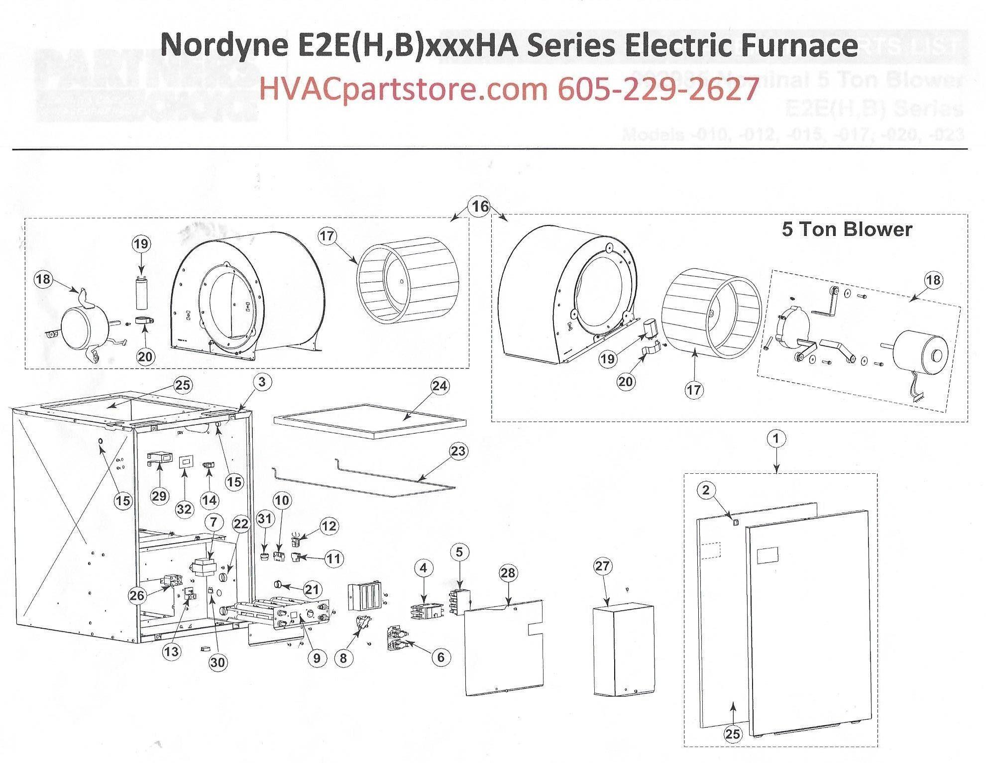 New Wiring Diagram For Nordyne Gas Furnace Diagram