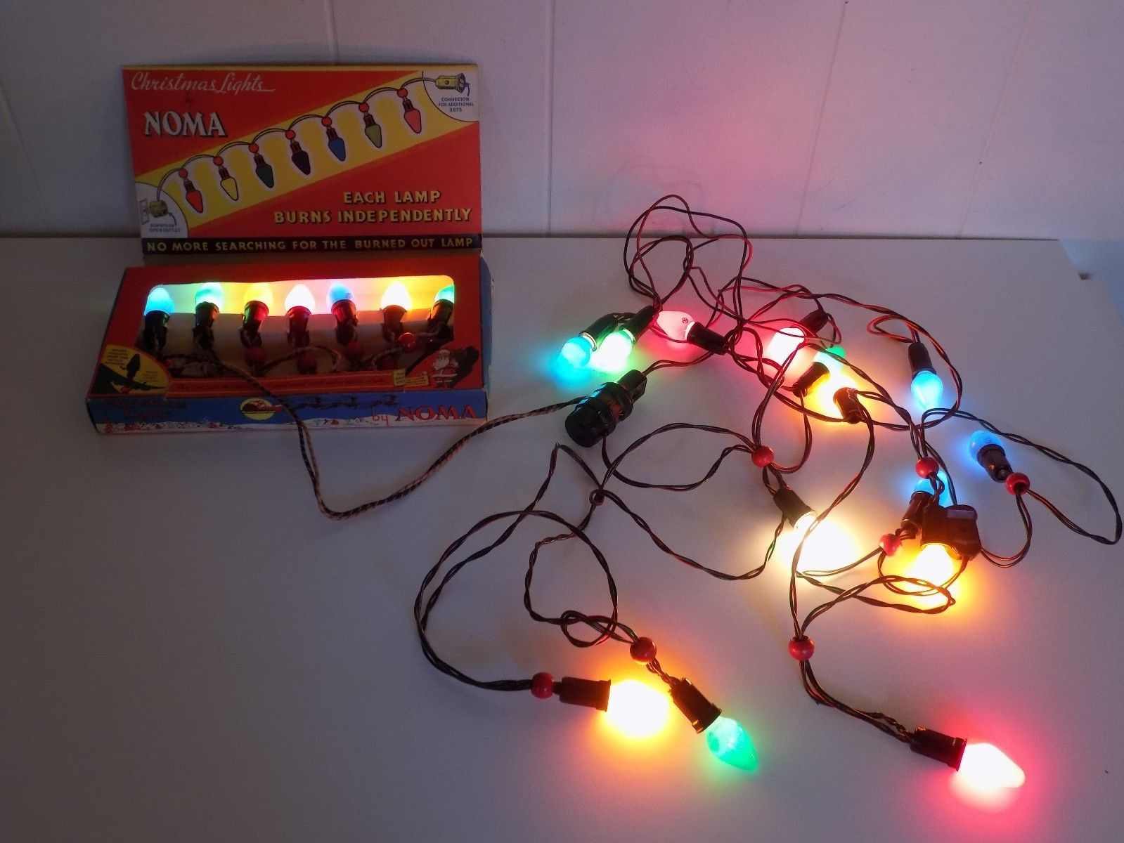 Noma Christmas Lights 2 Strands 1 Box 1 Other Set | Products ...