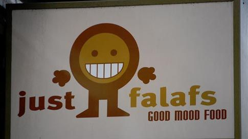 I would totally buy falafel from here!  #puns #funny #words #English
