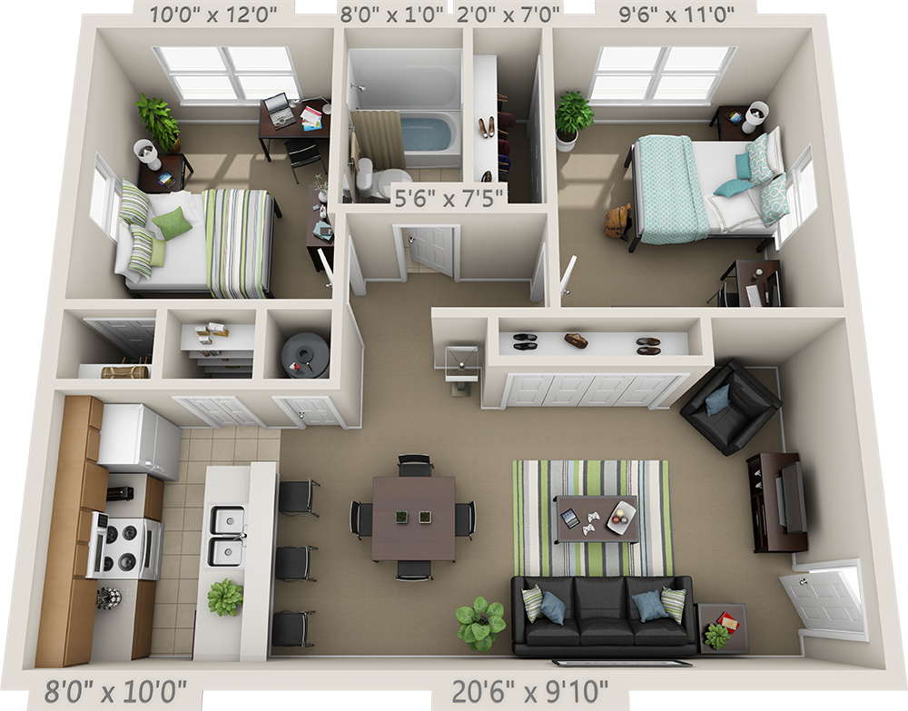 Floor Plans College Park Apartments House Layout Plans Home Building Design Sims House Plans