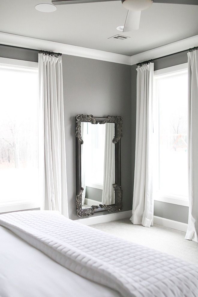 Sherwin Williams Dovetail Grey Paint Color Everything Except That Mirror
