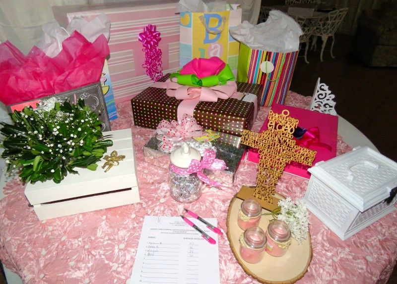 First Baby Shower: Family - The first baby shower for our ...