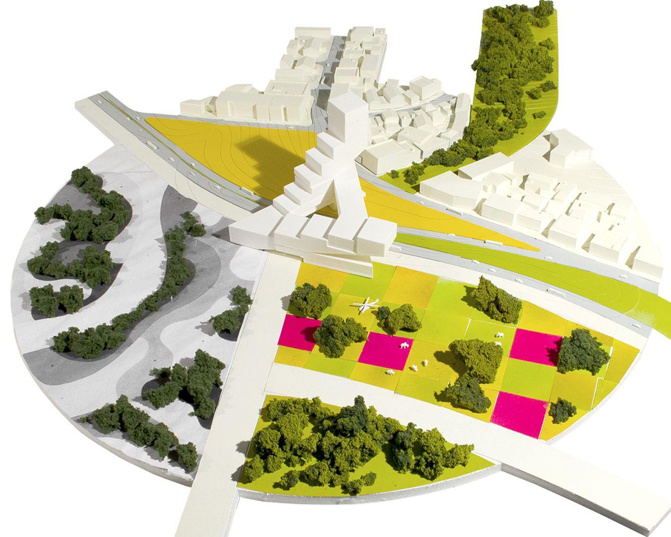 FOCO archive: GABON Ministry of Parks site model #Africa #Gabon #Libreville #architecture #urbanism #foco