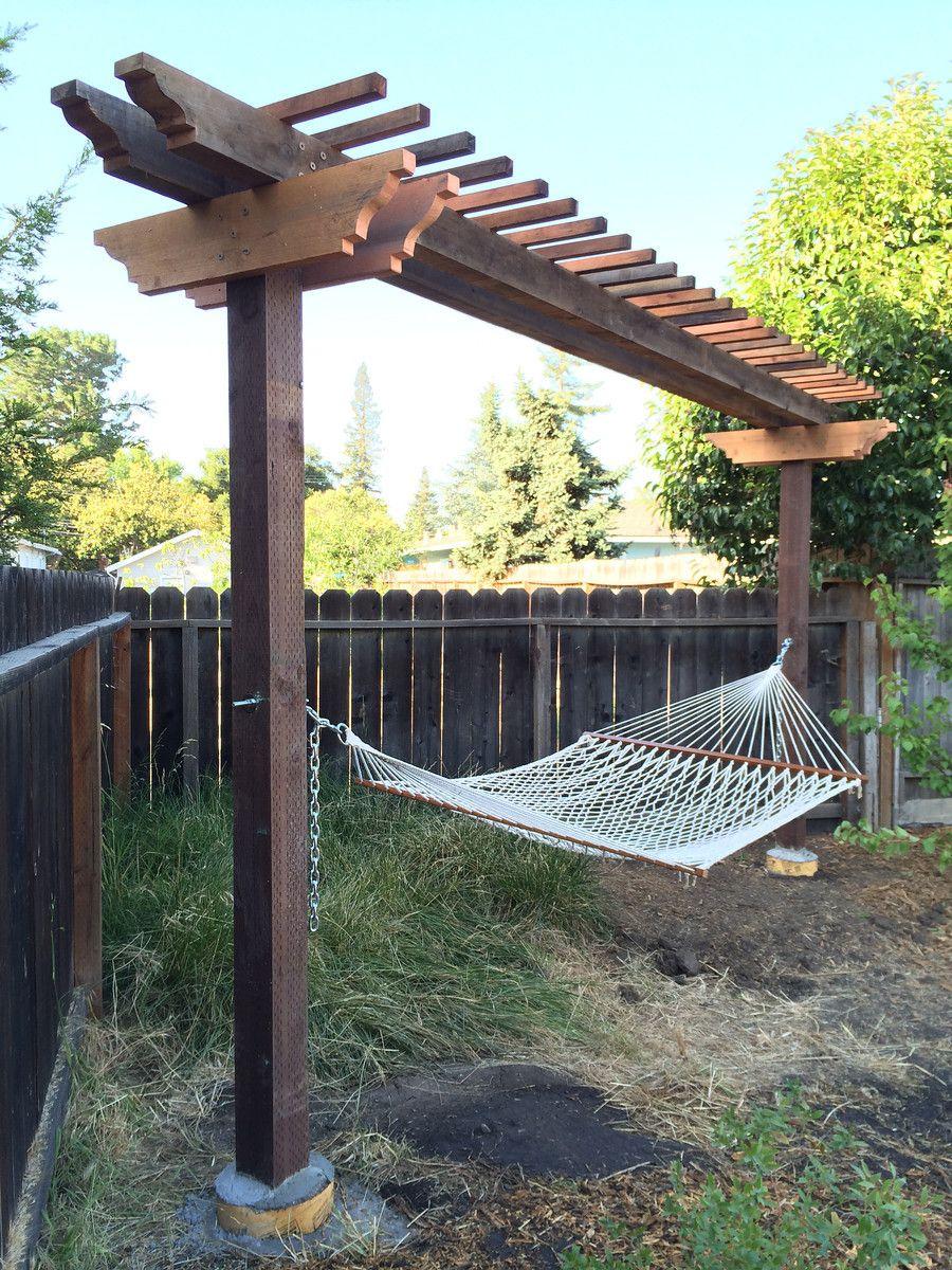 hammock arbor hammock arbor   yard   pinterest   arbors  rh   pinterest