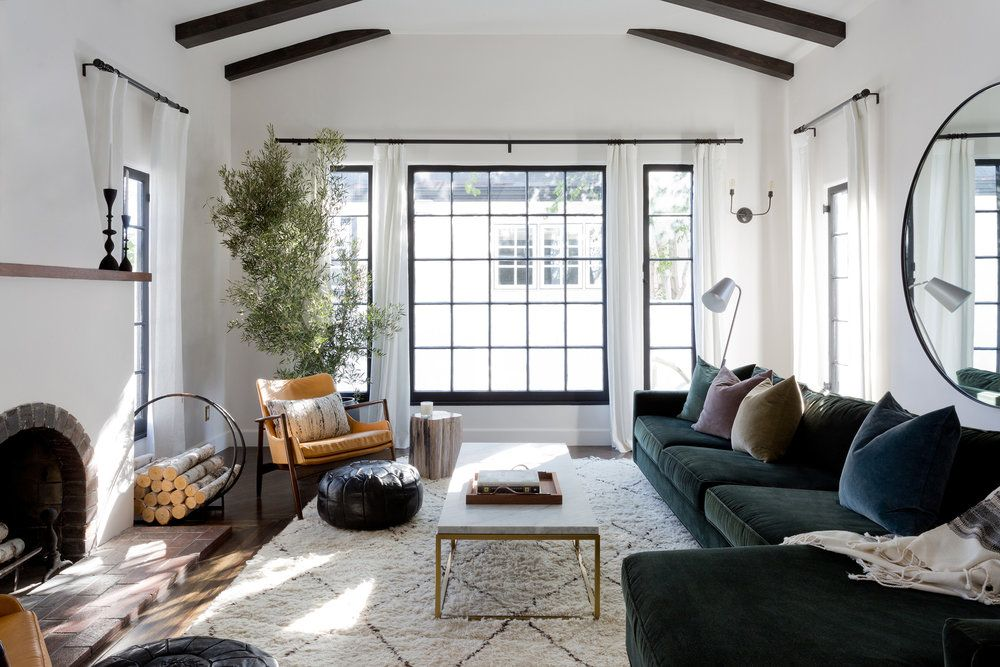 Southern California Spanish Revival Bungalow Jette