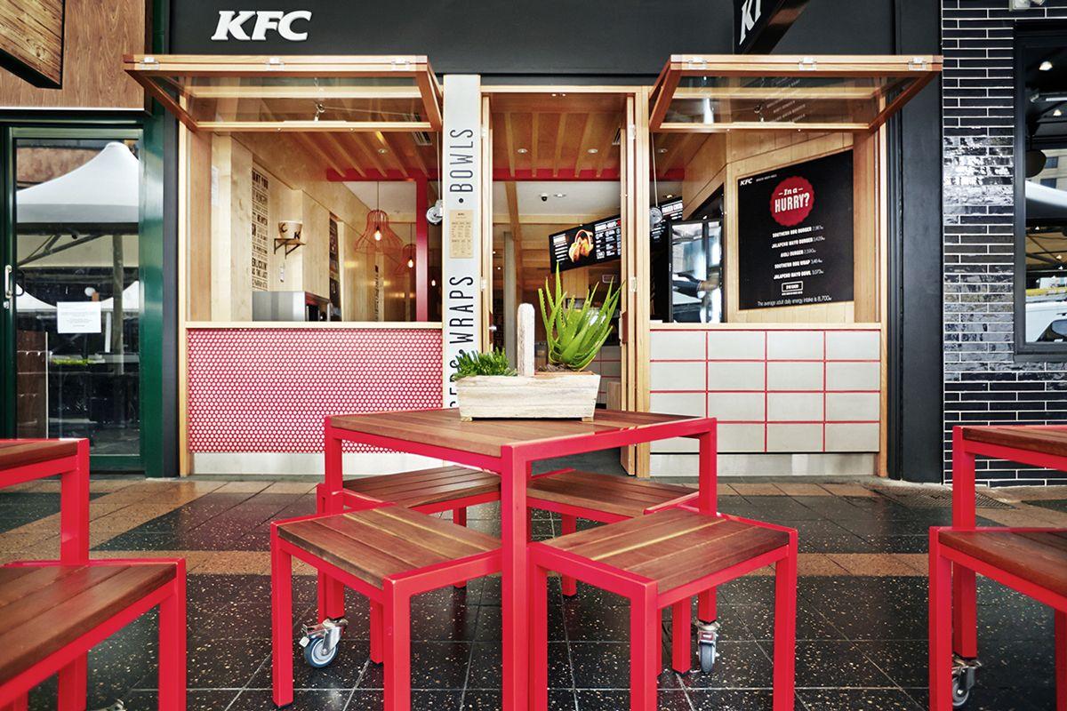 KFC Urban Brand Experience on Behance Restaurant